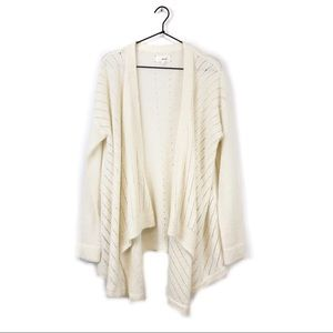 Lou & Grey On Point Waterfall Cardigan